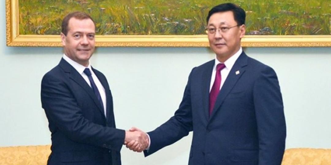 Ерөнхий сайд Ж.Эрдэнэбат ОХУ-ын Засгийн газрын дарга Д.А.Медведевтэй уулзлаа