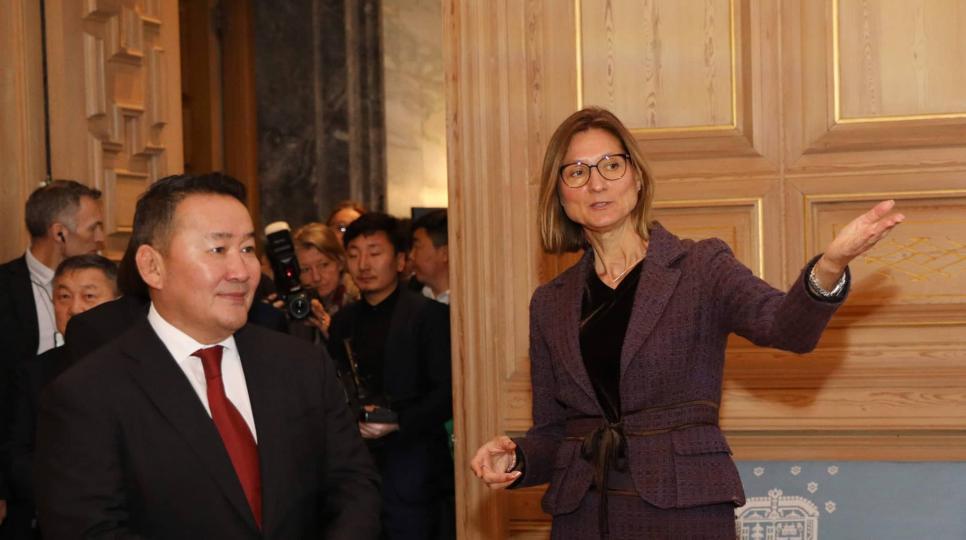 Монгол Улсын Ерөнхийлөгч Х.Баттулга Норвегийн Баялгийн сангийн үйл ажиллагаатай дэлгэрэнгүй танилцлаа