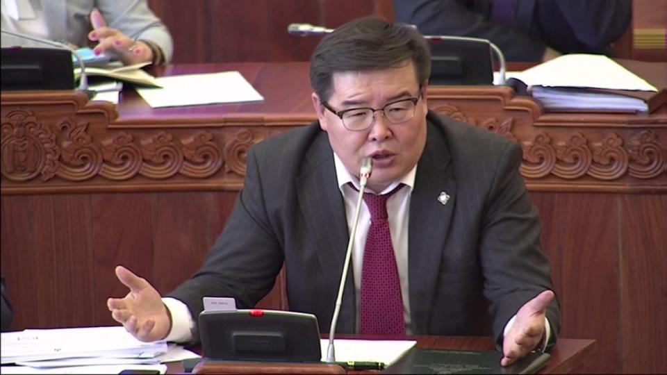 Г.Занданшатар: Татварын дарамтыг цэгцлэх дэвшилтэд олон төсөл өргөн барина