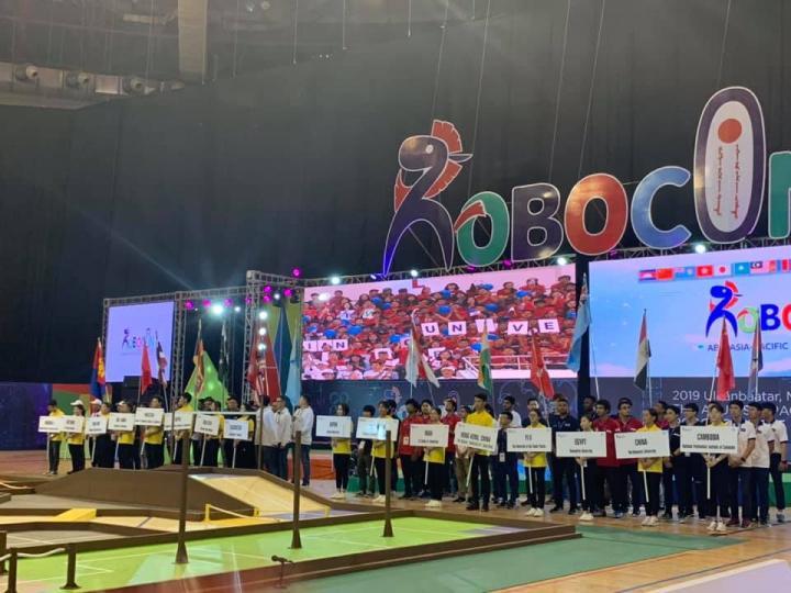 """""""ABU Robocon–2019 Mongolia"""" тэмцээнд Буянт Ухаа спорт цогцолборт эхэллээ"""