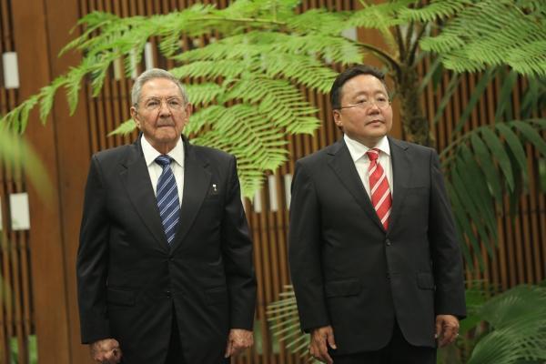 Монгол Улсын Ерөнхийлөгч хагас зуун жилийн дараа Куба улсад айлчиллаа