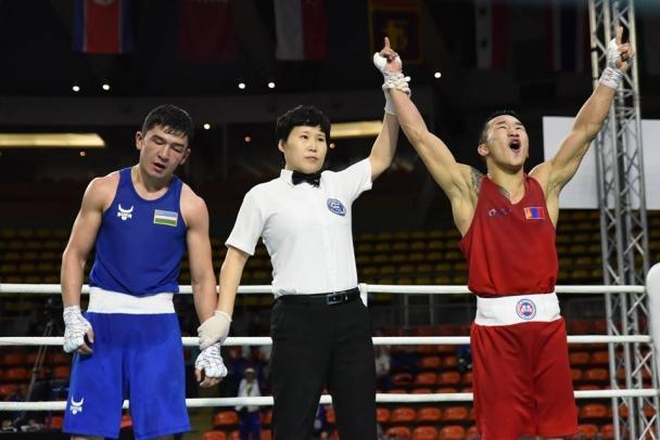 Э.Цэндбаатар Казахстаны З.Сапиуллиныг ялж алтан медаль хүртлээ