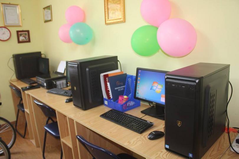 Хөгжлийн бэрхшээлтэй хүүхдэд зориулсан сургалтын танхимтай боллоо