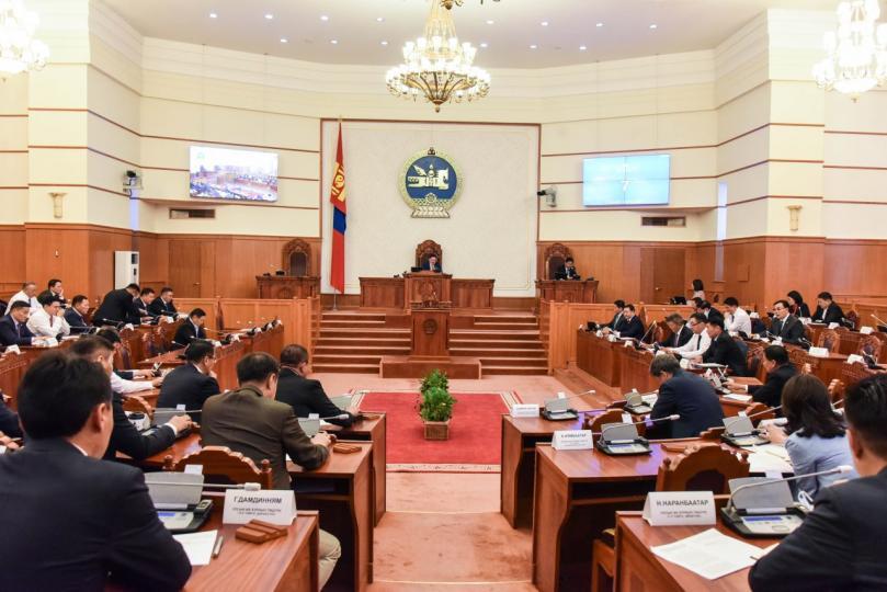 Засгийн газрын бүтэц, бүрэлдэхүүний тухай хуульд нэмэлт, өөрчлөлт орууллаа