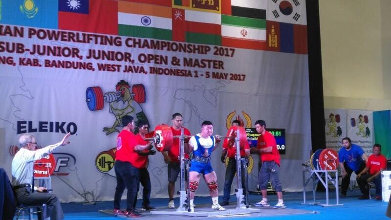 Пауэрлифтингийн тивийн аваргаас Монголын тамирчид хоёр алт, нэг мөнгөн медаль хүртлээ