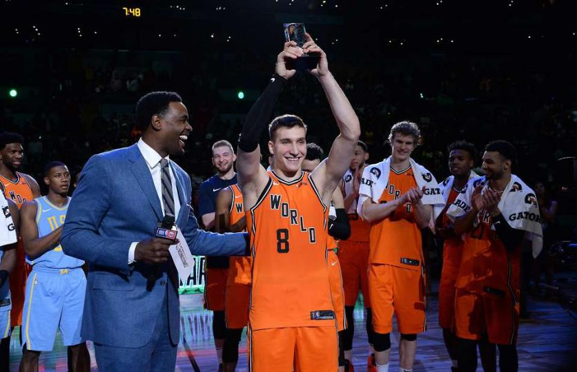Богдан Богданович залуу оддын тоглолтын MVP боллоо