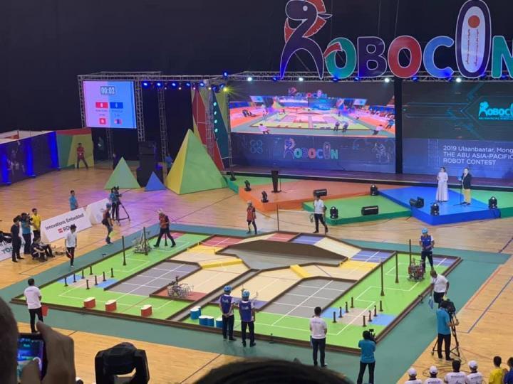 Монголын 1-р баг ABU Robocon тэмцээнд дэд байр эзэллээ