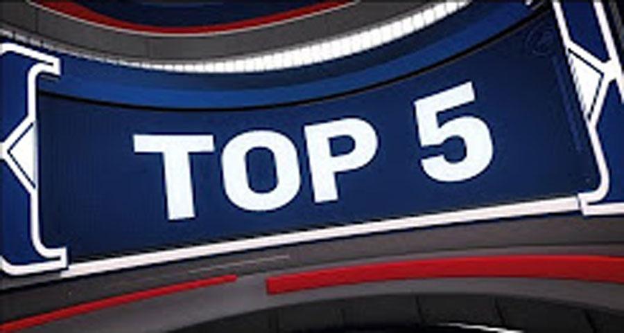 NBA-ын өнөөдрийн тоглолтуудын шилдэг 5 (17.10.18)