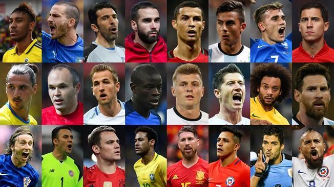 ФИФА оны шилдэг өрсөлдөх хөлбөмбөгчдийн нэрийг зарлалаа