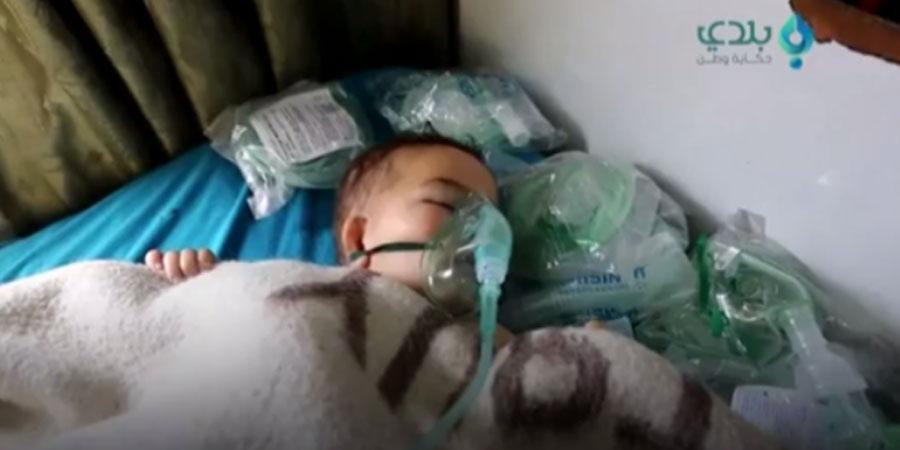 Сирийн иргэд химийн хоронд хордож, амиа алдаж байна