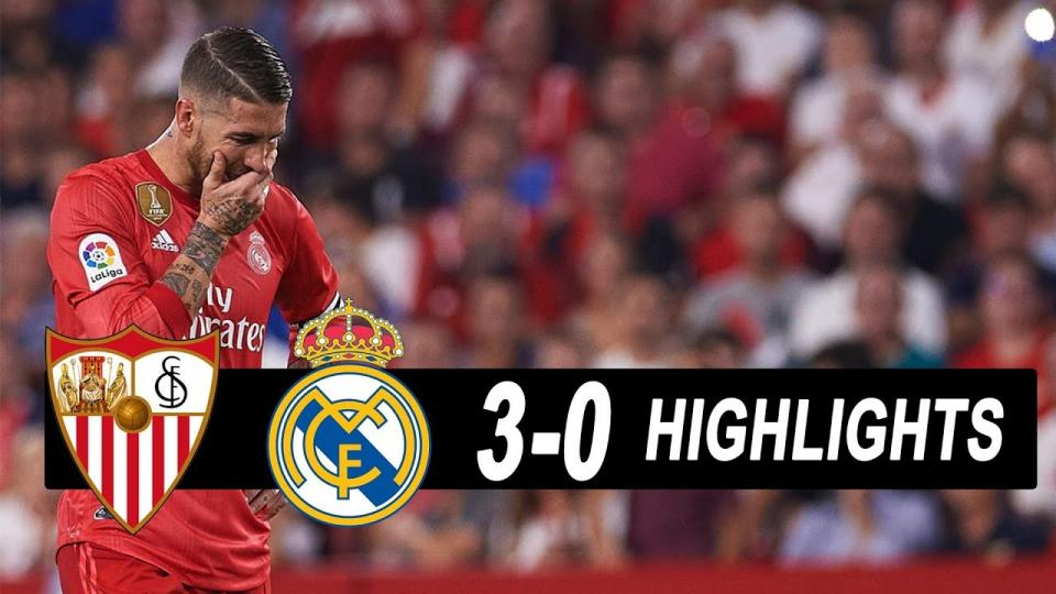 Севилла Реал Мадридыг бутниргэлээ
