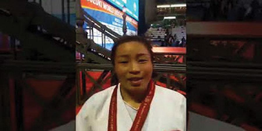 Д.Сумъяагийн дэлхийн аварга болсны дараах баярт мөч