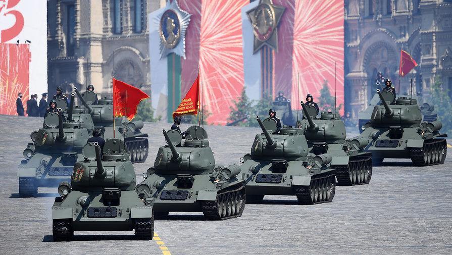 ШУУД: Москва хотод Ялалтын баярын жагсаал