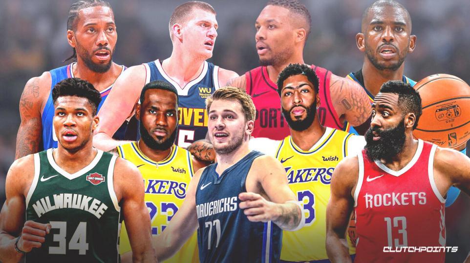 NBA-ын нэгдүгээр багт нэрлэгдсэн тамирчдын нэрс