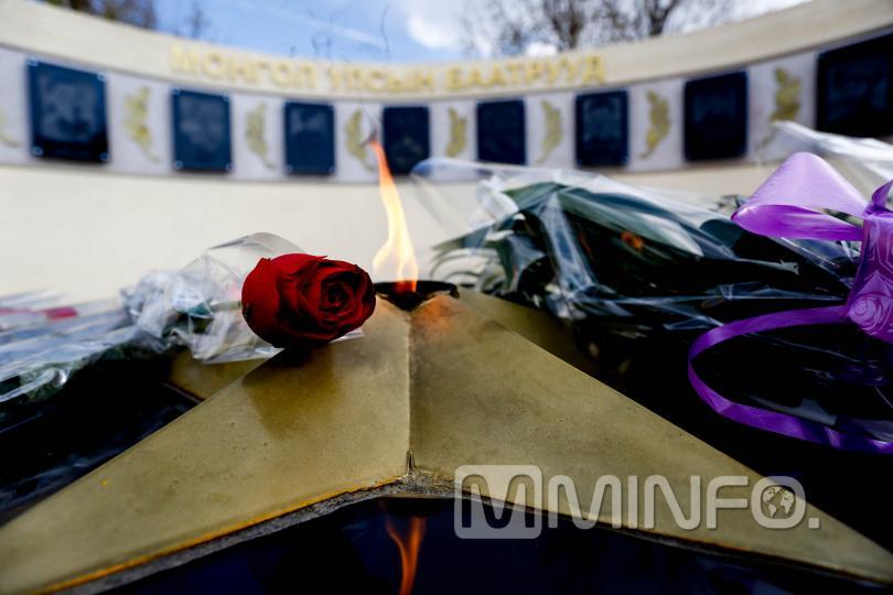 Монгол Улсын баатруудын хүндэтгэлийн цогцолборын нээлт боллоо /ФОТО/