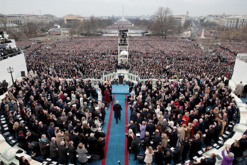 45 дахь ерөнхийлөгч Дональд Трамп тангараг өргөлөө /ВИДЕО/