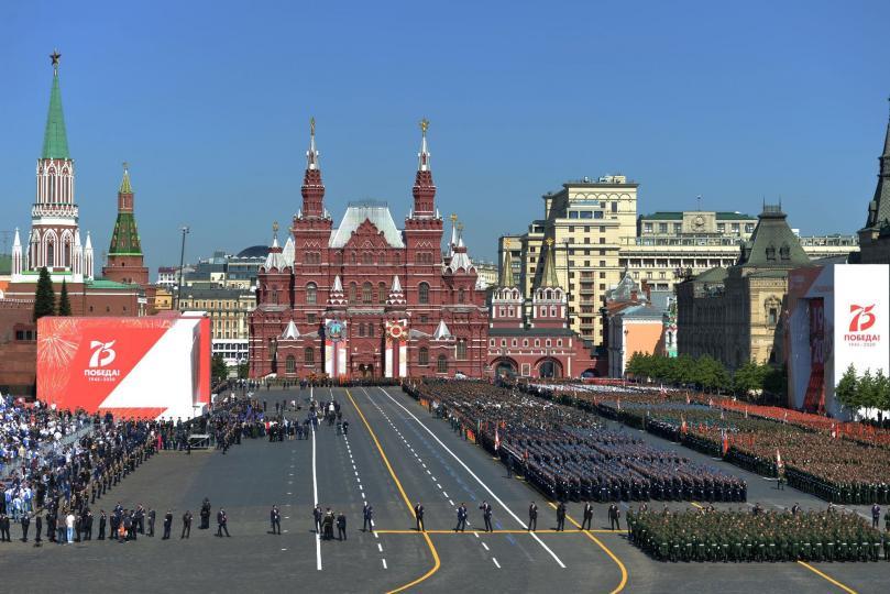 Фото мэдээ: Улаан талбайд ялалтын парад зургаас