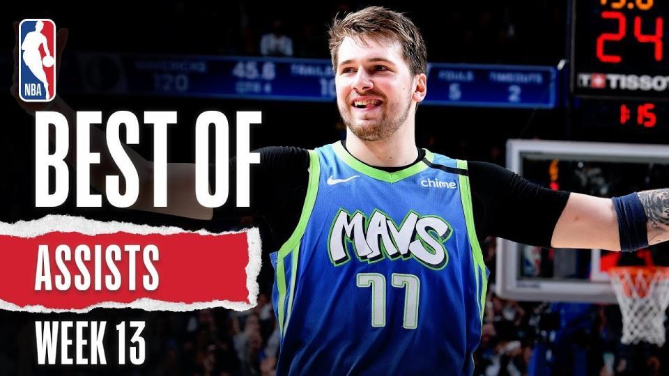 NBA-гийн 13 дахь долоо хоногийн шилдэг дамжуулалтын бичлэг