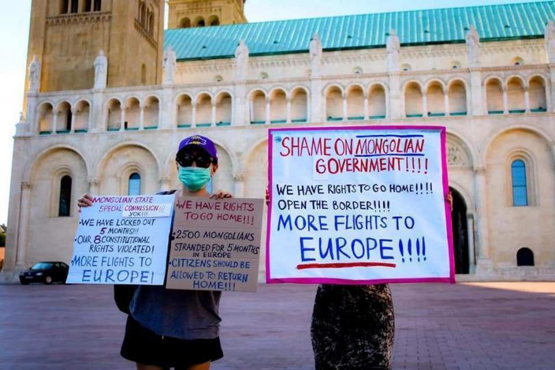 Их Британи:Монгол, Европт гацсан 2500 иргэнээ хэзээ авах вэ?