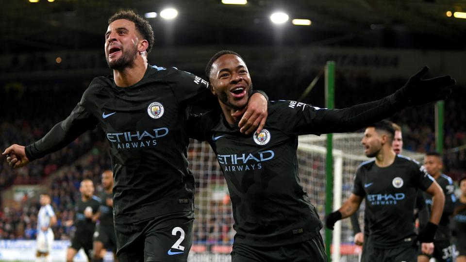 Манчестер Сити 37 оноогоор хүснэгтийг тэргүүлж байна