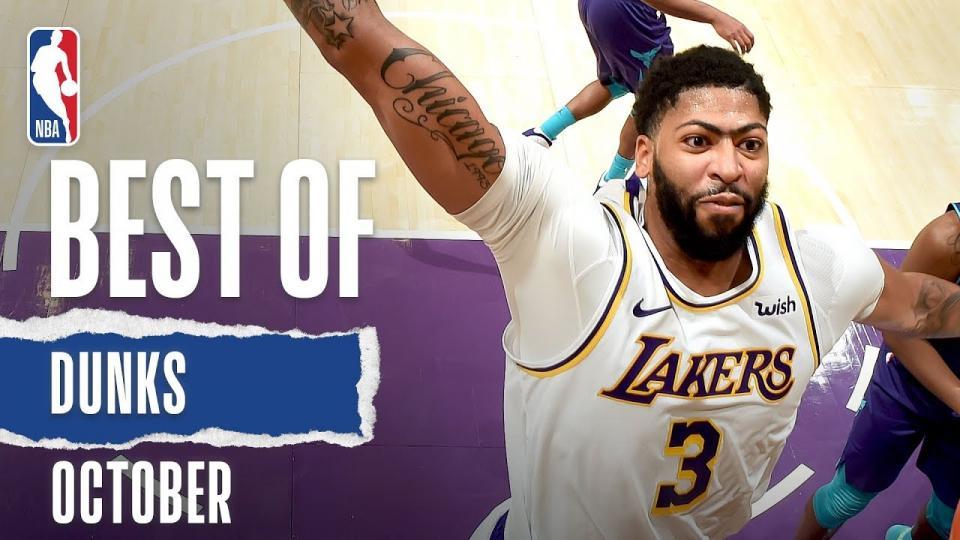 NBA-ын 10-р сарын шилдэг тохолтын бичлэг