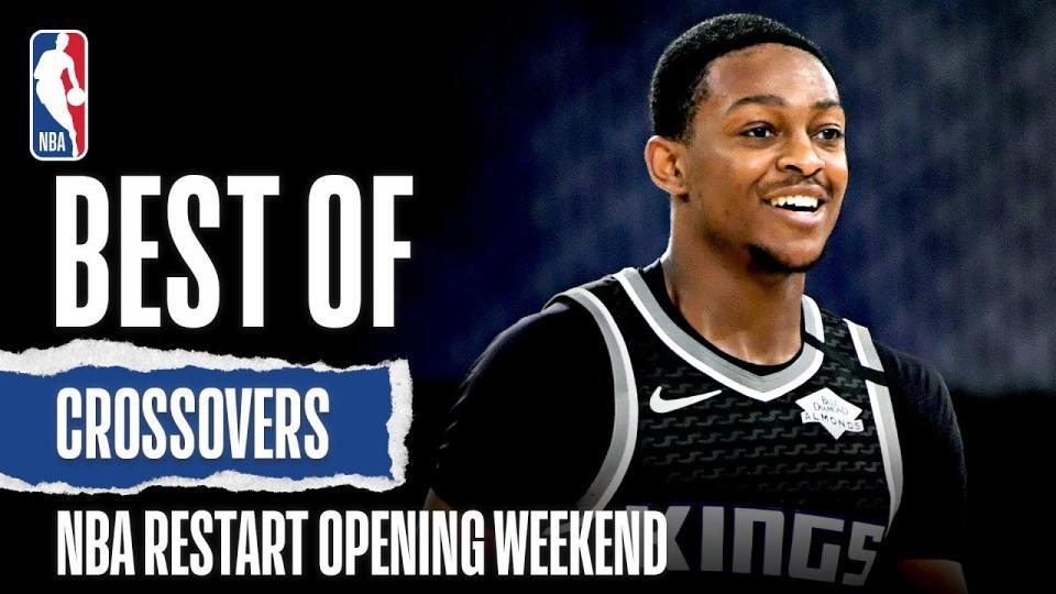 NBA дахин эхэлсэн нээлтийн долоо хоногийн шилдэг шагай мултлалтуудын бичлэг