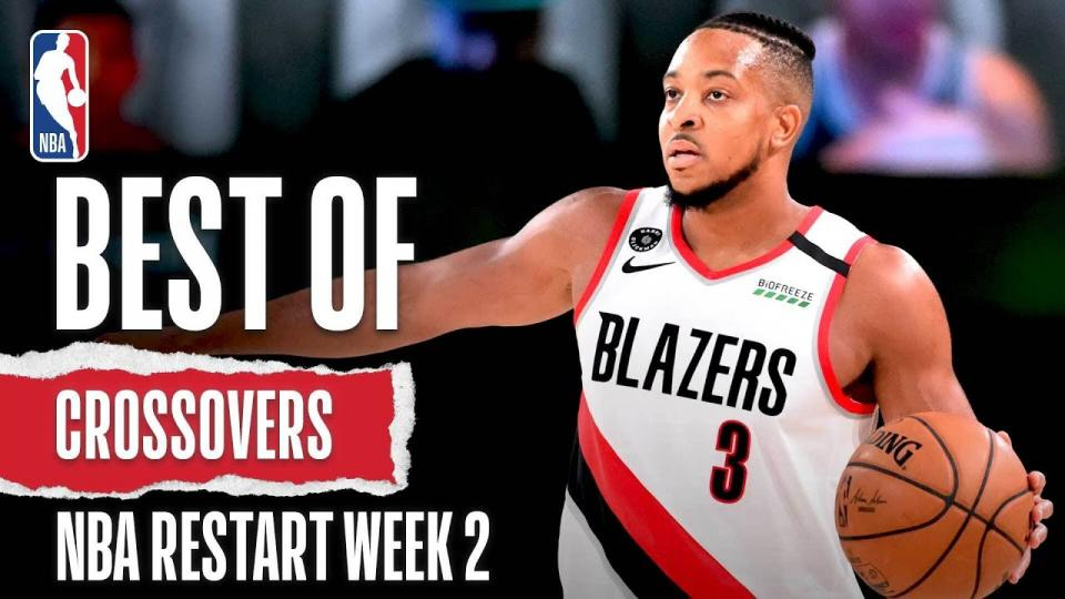 NBA дахин эхэлсэн 2 дахь долоо хоногийн шилдэг шагай мултлалтын бичлэг