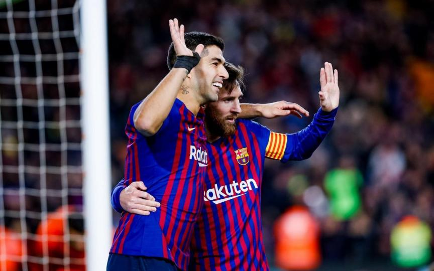 Барселона Испанийн цомын тэмцээний финалд шалгарлаа
