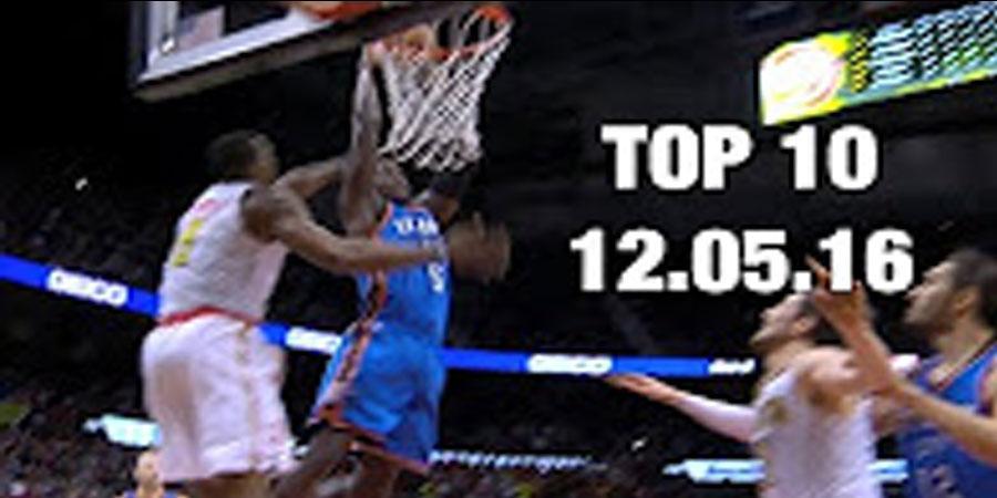 NBA-ын өнөөдөр болсон тоглолтын шилдэг 10 (16-12-06)