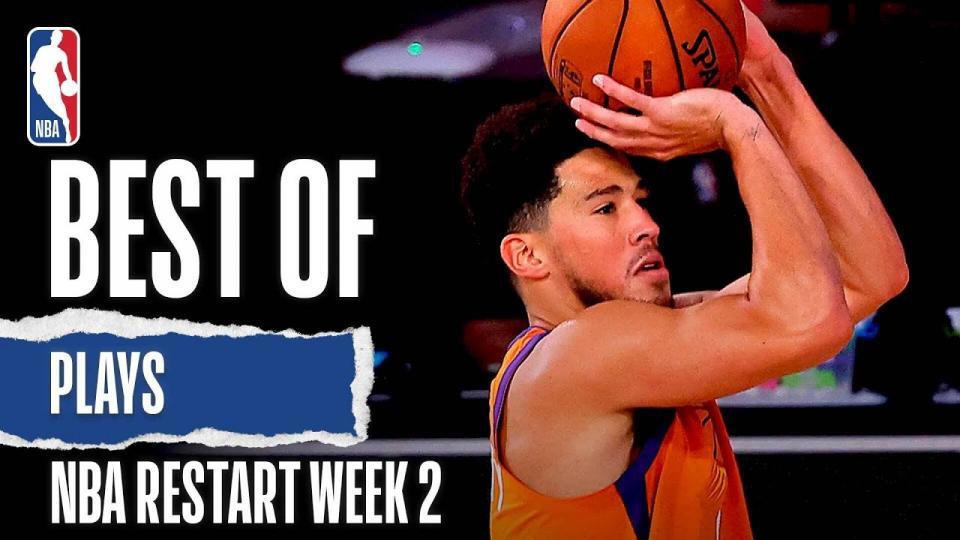 NBA дахин эхэлсэн 2 дахь долоо хоногийн шилдэг тоглогчдын бичлэг