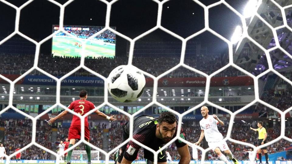 Португал, Испаний багууд 3-3 харьцагаар тэнцлээ
